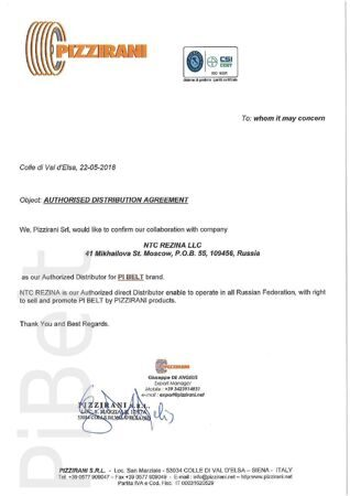 Authorized Distributor Agreement 22-5-2018-001